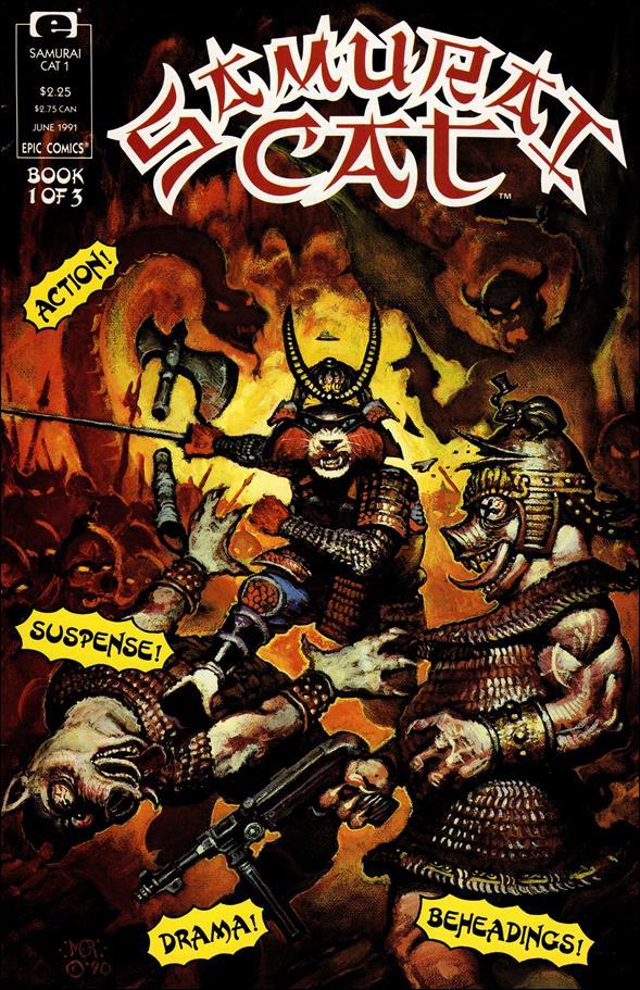 Samurai Cat 1-A by Epic