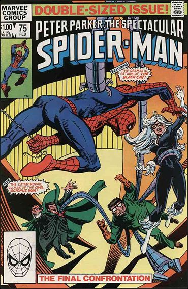 Spectacular Spider-Man (1976) 75-A by Marvel