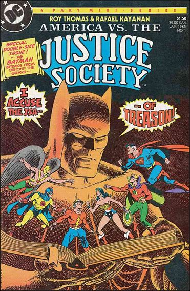 America vs the Justice Society 1-A by DC
