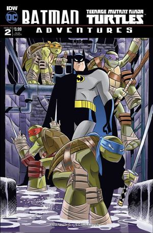 Batman/Teenage Mutant Ninja Turtles Adventures 2-B