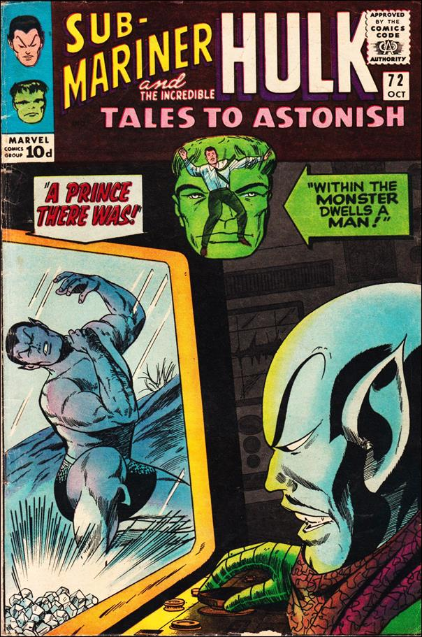 Tales to Astonish (1959) 72-B by Marvel