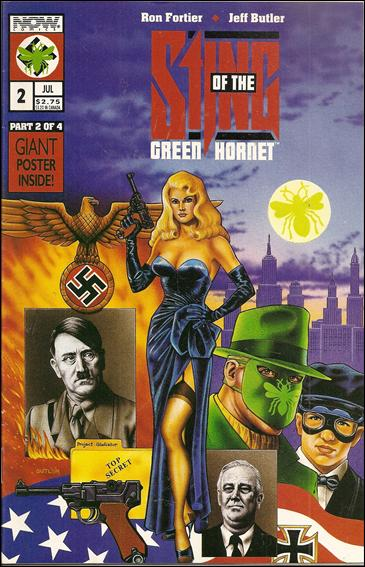Sting of the Green Hornet 2-A by Now Comics