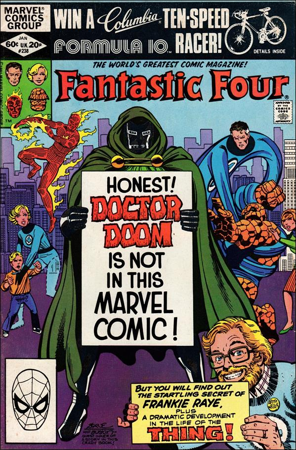 Fantastic Four (1961) 238-A by Marvel