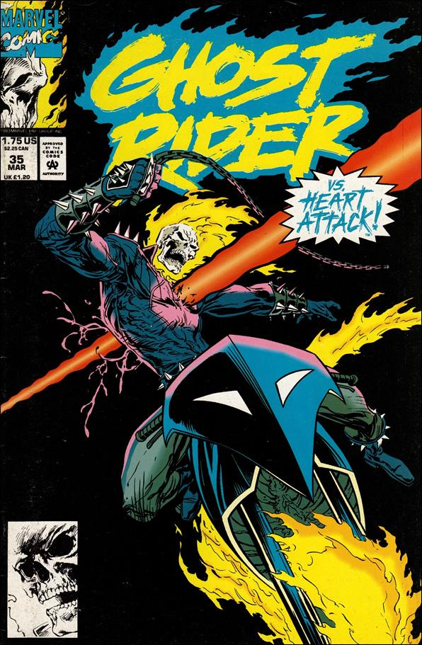 Ghost Rider (1990) 35-A by Marvel