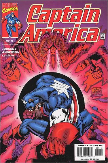 Captain America (1998) 29-A by Marvel