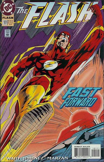 Flash (1987) 101-A by DC