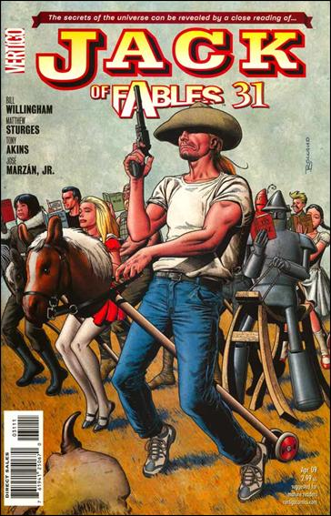 Jack of Fables 31-A by Vertigo