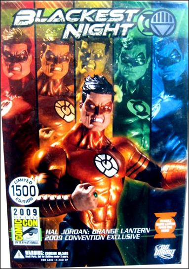 Blackest Night (Exclusives) Hal Jordan: Orange Lantern 1/1500 by DC Direct