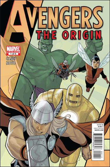 Avengers: The Origin 1-A by Marvel