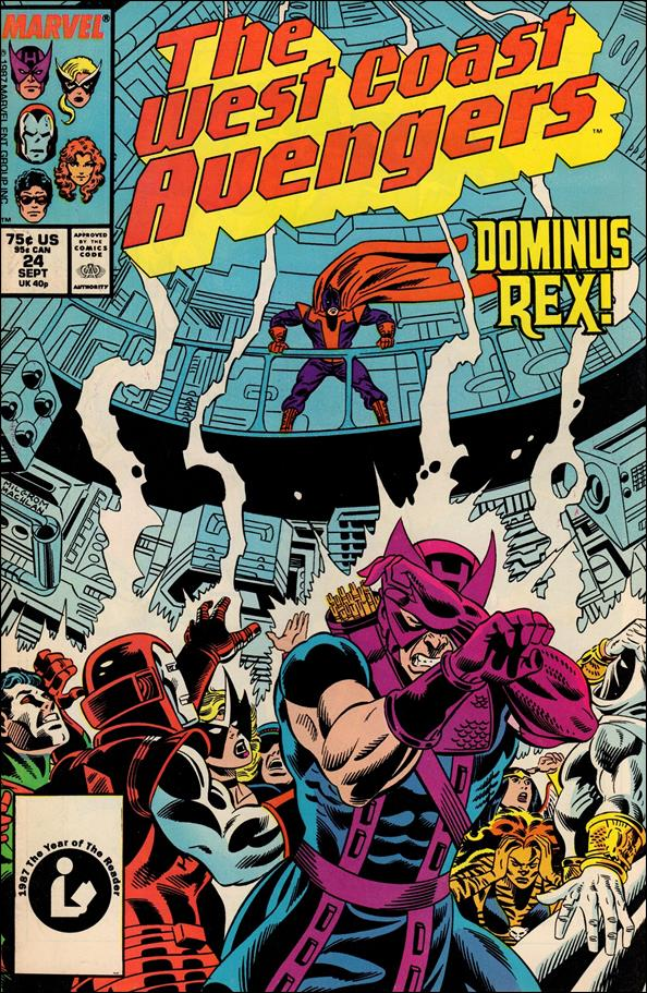 West Coast Avengers (1985) 24-A by Marvel