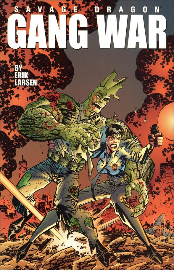 Savage Dragon: Gang War 1-A by Image