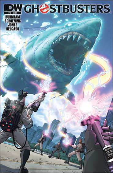 Ghostbusters (2011) 13-A by IDW
