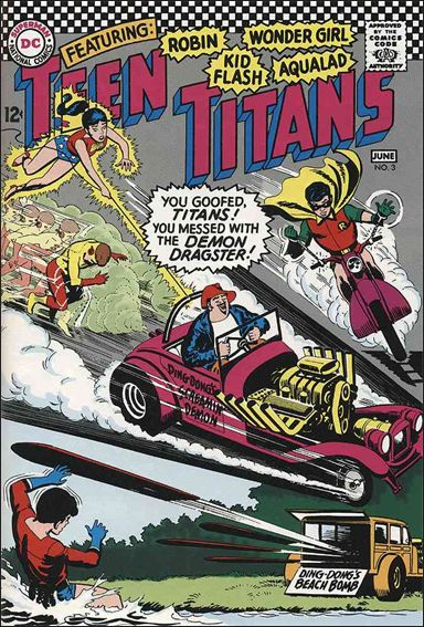 Teen Titans (1966) 3-A by DC