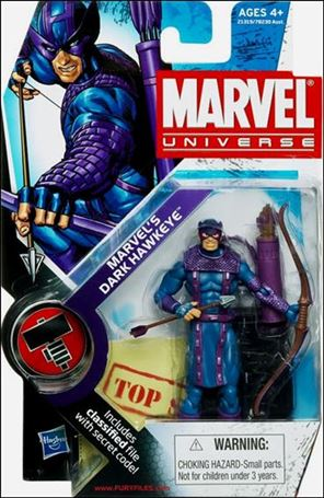 Marvel Universe (Series 2) Marvel's Dark Hawkeye