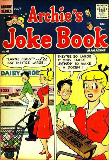 Archie's Jokebook Magazine 41-A by Archie