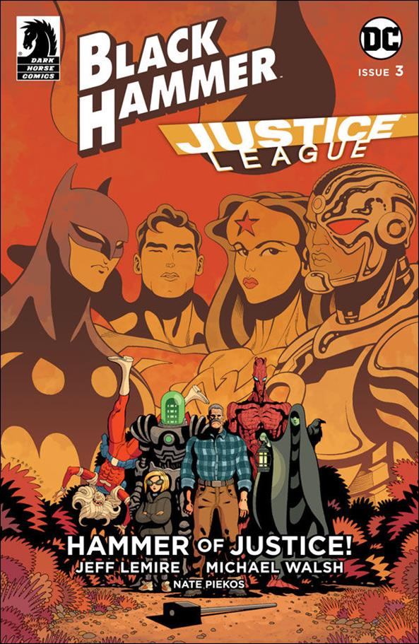 Black Hammer/Justice League: Hammer of Justice! 3-D by Dark Horse