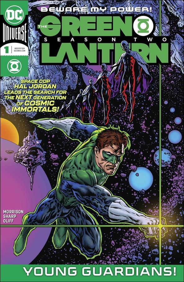 Green Lantern: Season Two 1-A by DC