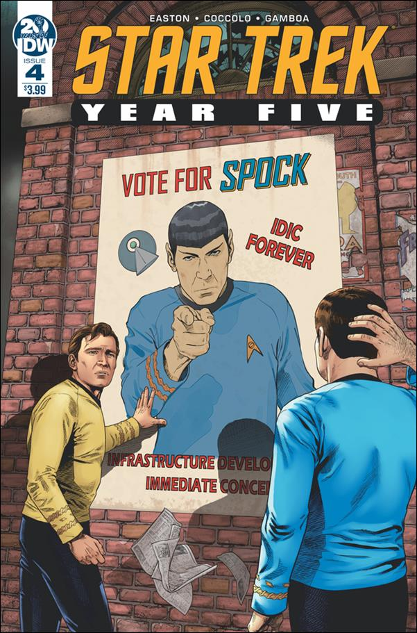 Star Trek: Year Five 4-A by IDW