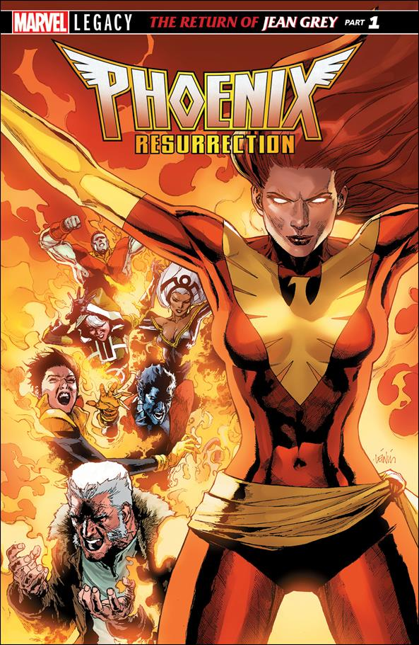 Phoenix Resurrection: The Return of Jean Grey 1-A by Marvel