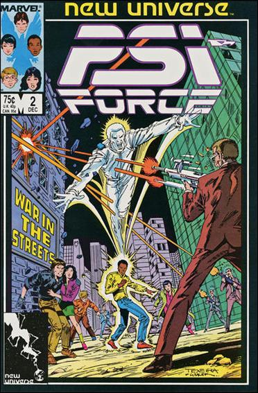Psi-Force 2-A by Marvel
