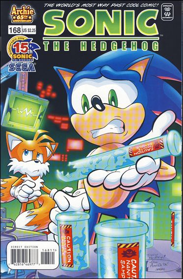 Sonic the Hedgehog (1993) 168-A by Archie