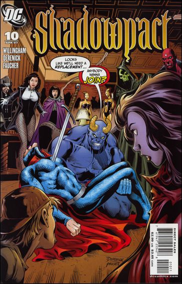 Shadowpact 10-A by DC