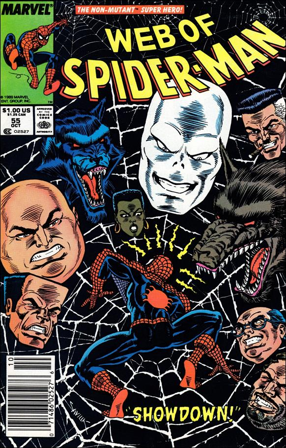 Web of Spider-Man (1985) 55-A by Marvel
