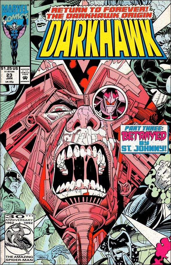 Darkhawk 23-A by Marvel