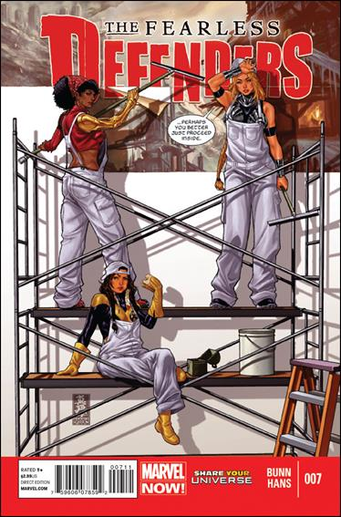 Fearless Defenders 7-A by Marvel