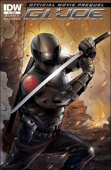 G.I. Joe 2 Movie Prequel 1-A by IDW