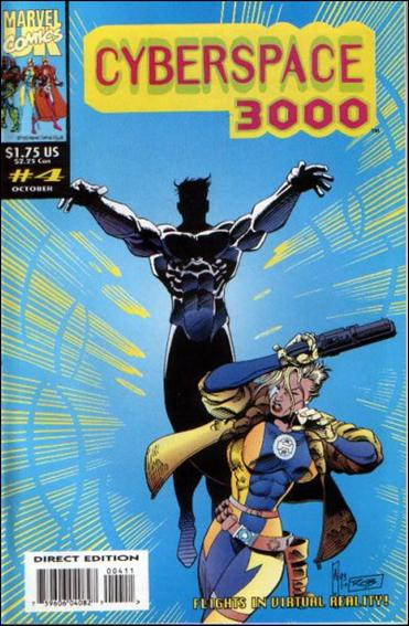 Cyberspace 3000 (UK) 4-A by Marvel UK