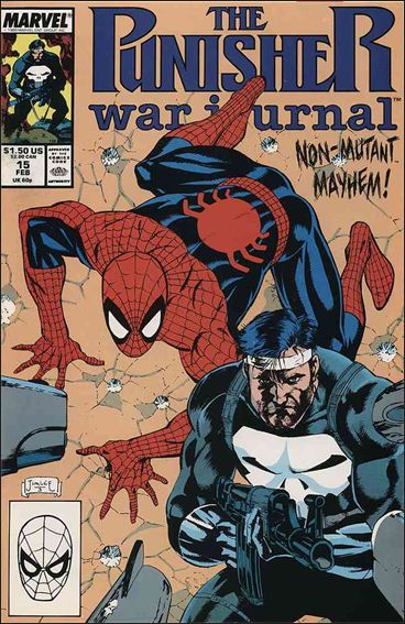 Punisher War Journal (1988) 15-A by Marvel