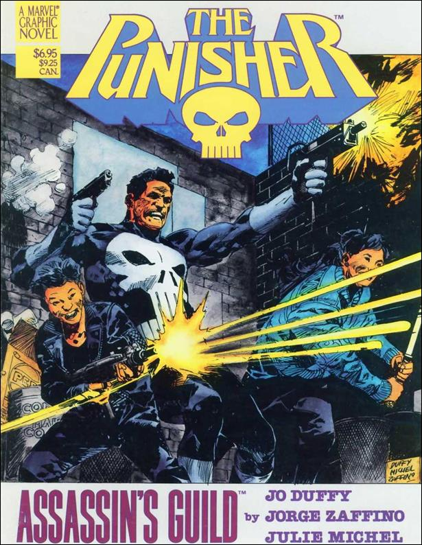 Marvel Graphic Novel: The Punisher, Assassins' Guild nn-A by Marvel