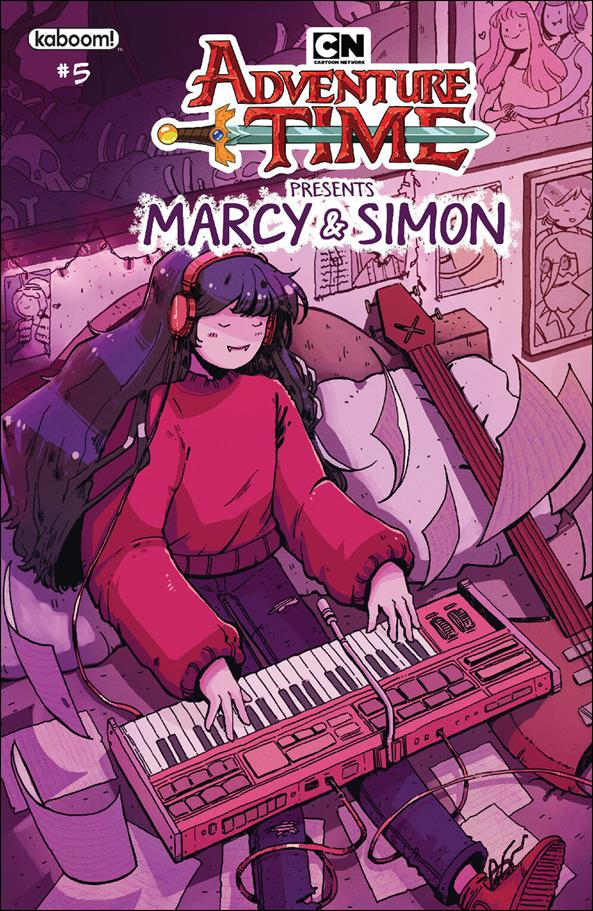 Adventure Time: Marcy & Simon 5-B by Kaboom!
