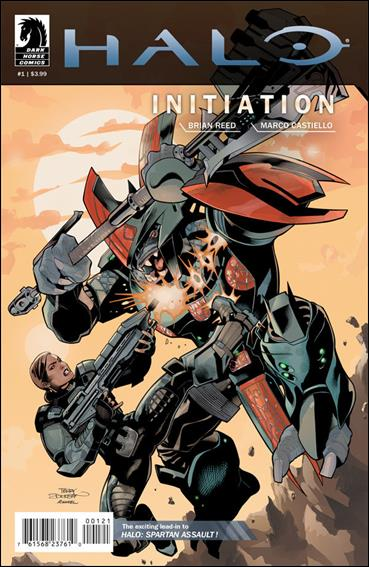 Halo: Initiation 1-B by Dark Horse