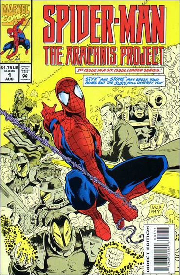 Spider-Man: The Arachnis Project 1-A by Marvel