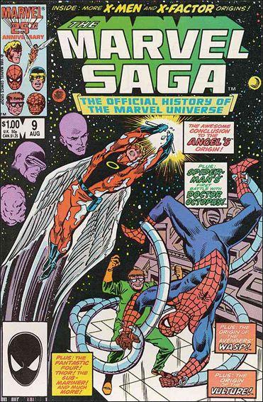 Marvel Saga 9-A by Marvel