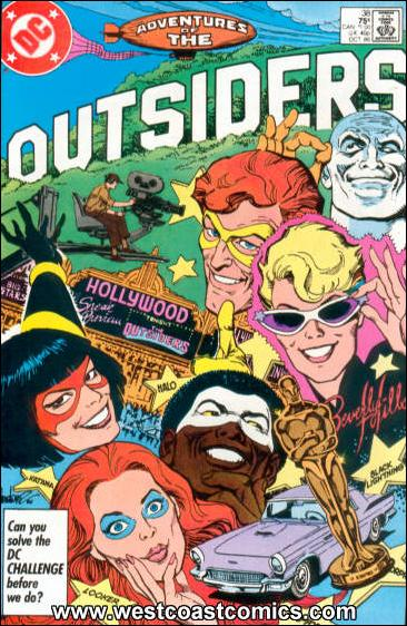 Adventures of the Outsiders 38-A by DC