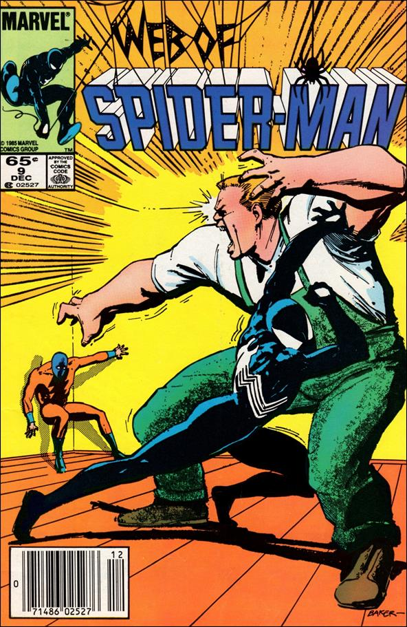 Web of Spider-Man (1985) 9-A by Marvel