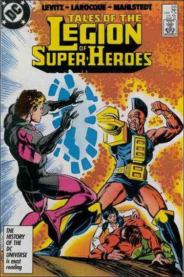 Tales of the Legion of Super-Heroes 345-A by DC
