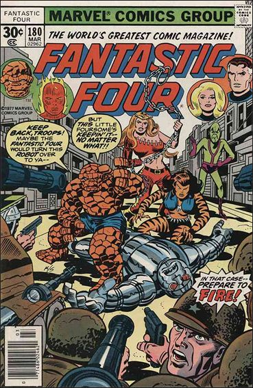 Fantastic Four (1961) 180-A by Marvel