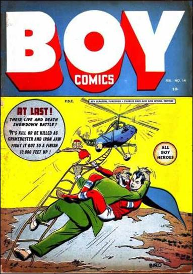 Boy Comics 14-A by Lev Gleason Productions