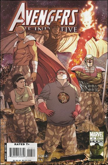 Avengers: The Initiative 13-A by Marvel