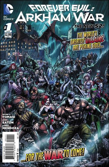 Forever Evil: Arkham War 1-A by DC