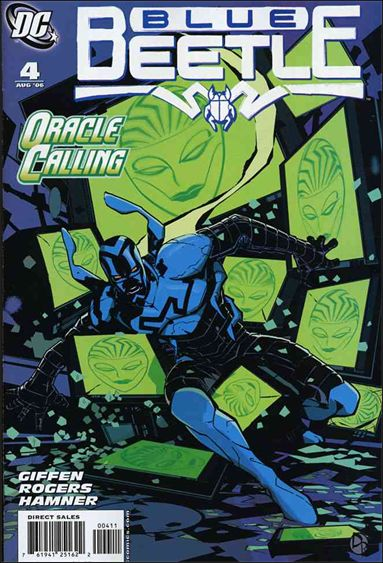 Blue Beetle (2006) 4-A by DC