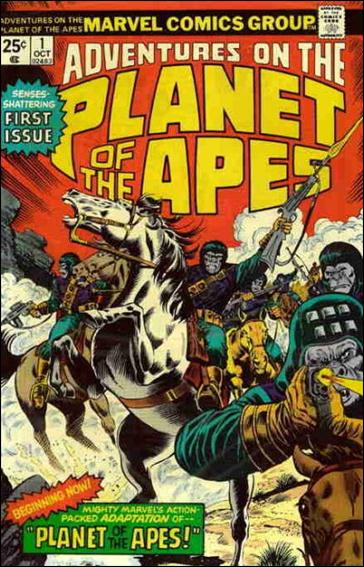 Adventures on the Planet of the Apes 1-A by Marvel
