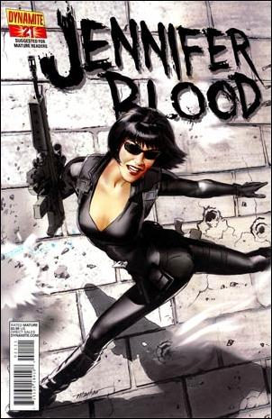 Jennifer Blood 21-A by Dynamite Entertainment