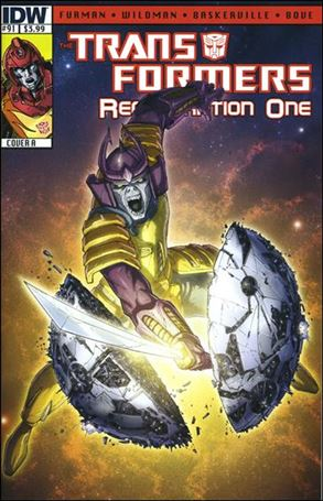 Transformers: Regeneration One 91-A