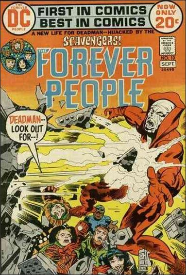 Forever People (1971) 10-A by DC