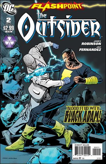 Flashpoint: The Outsider 2-A by DC